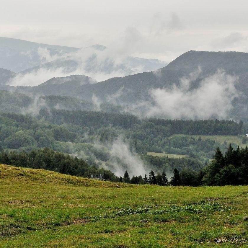 Z Králík na Kralické sedlo (Kremnické vrchy)