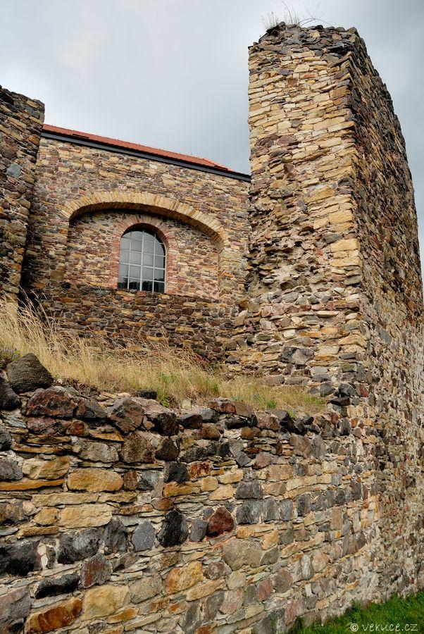 Potštejn - zřícenina hradu