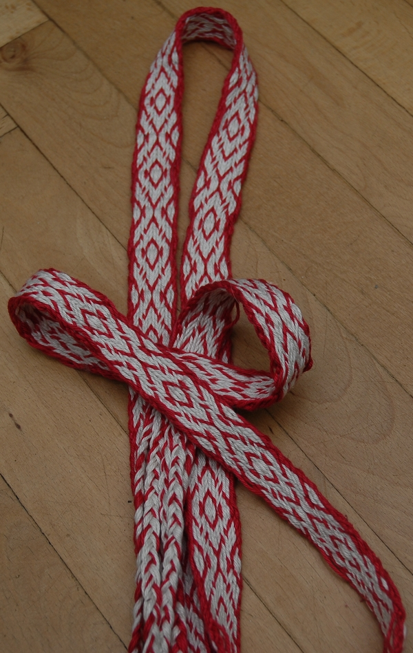 Karetkový pás | tkaní na karetkách